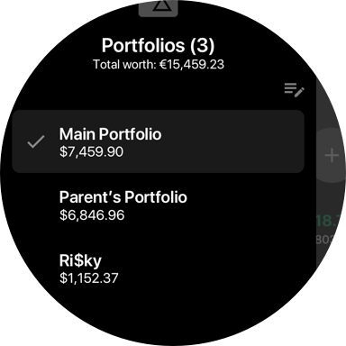 Multiple portfolios